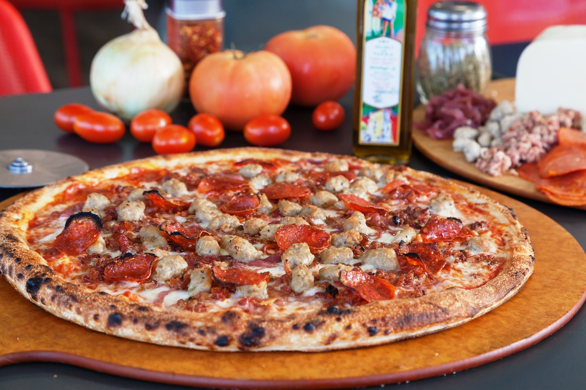 Sampa's Pizza in Marina Del Rey - Takeout & Delivery - Gourmet Coffeee